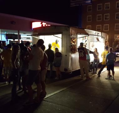 BBQ Truck at Kent State Homecoming